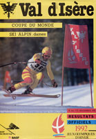 cover of a magazine about skiing
